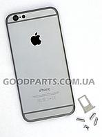 Задняя панель для iPhone 6 серый