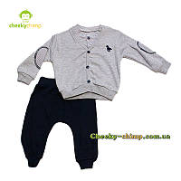 Детский костюм на мальчика серый Pollo, фото 1
