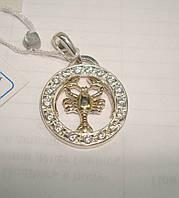 Серебряные знаки зодиака с камнями