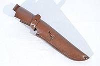 Чехол для ножа №6 кожаный коричневый