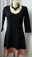 Платье женское стильное модное демисезонное хлопок мини бренд Anna Field р.46 5912