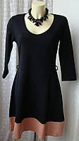 Платье женское стильное модное демисезонное хлопок мини бренд Anna Field р.46 5912, фото 1