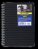Блокнот А6 NOTE 80 л кл, пласт обл. BM.2589-501 (ас)