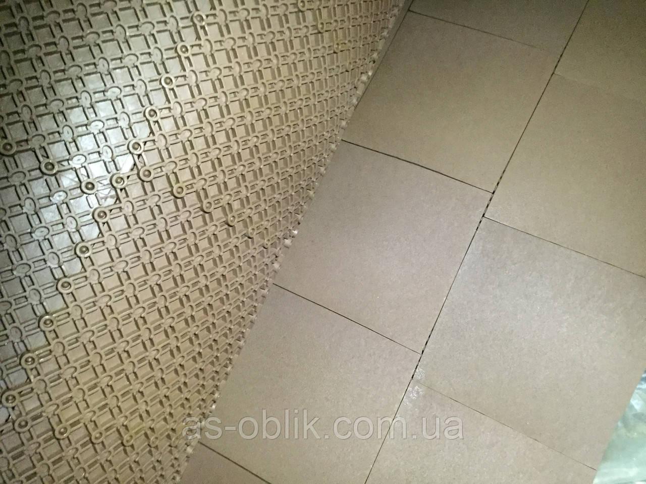 Резиновое покрытие  коричневое