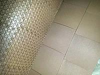 Резиновое покрытие  коричневое, фото 1