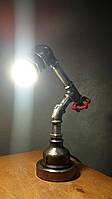 Лампа лофт из фитингов