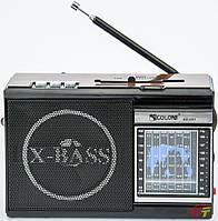 Портативный радиоприемник GOLON RX-081 + фонарик  *1523