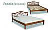 Кровать деревянная Италия ковка ДОК