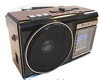 Портативный радиоприемник GOLON RX-080 + фонарик  *1524