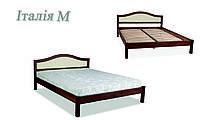Кровать деревянная Италия мягкая ДОК