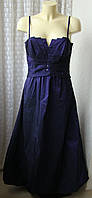 Платье женское вечернее выпускное шикарное в пол бренд Vera Mont р.44-46 5915а