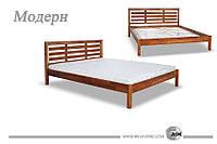 Кровать деревянная Модерн ДОК