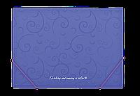 Папка А5 на рез., пласт. Barocco BM.3902-07 (фиол)