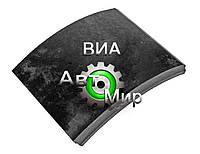 Накладка тормозная передняя (сверл.) (ТРИБО) 4370-3501105-025