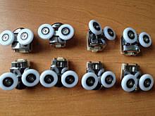 Комплект роликів для двері гідробоксу 26 мм