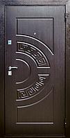 Входная металлическая дверь МДФ/МДФ влагостойкий Стандарт 98 (венге) 960