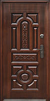 Стандартная входная металлическая дверь Сезон Плюс Тёплый стандарт 150+ светлая медь 960