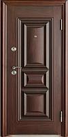 Стандартная входная металлическая дверь Сезон Плюс Тёплый стандарт 386+ шершавый лак 960