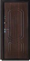 Входная металлическая дверь МДФ Белорусский стандарт 2014  БС-5  Коньячный орех 960