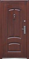Входная металлическая стандартная дверь Двери Оптом ТР-С 12 медь 960