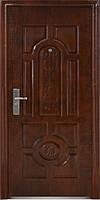 Входная металлическая дверь Двери Оптом Эконом ТР-С 50 автолак медь 960