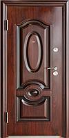 Стандартная входная металлическая дверь Сезон Плюс Тёплый стандарт 388+ антивандальный лак 960