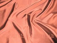 Стрейч-атлас (спелый персик) (арт. 09108) в отрезах