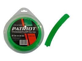 Леска patriot бухта мал 2мм х 130 мм звезда зелёная