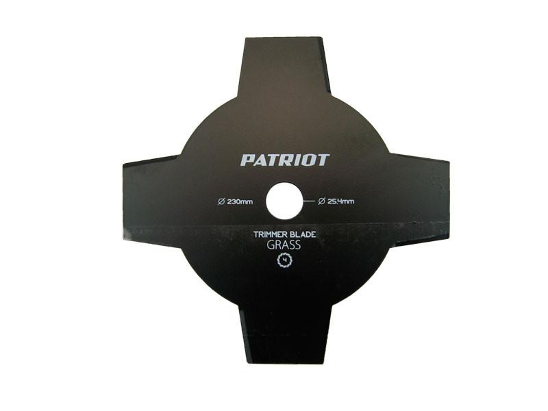 Нож для косы patriot 4-х