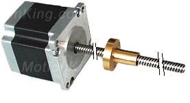 Линейные шаговыедвигателя 23L 57mm