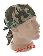 Бандана  под шлем-каску MIL-TEC Woodland, 12225020