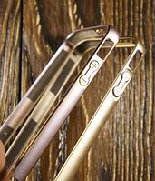 """Бампер """"Metal"""" для Apple iPhone 4/4S Чехол-Накладка на мобильный телефон"""