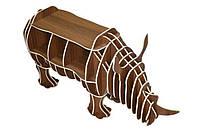 Полка в виде животного Носорог