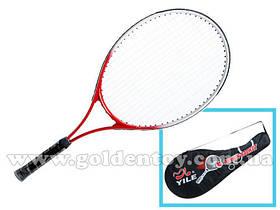 Ракетка для большого тенниса алюм+метал