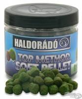 Пеллет насадочный Haldorádó TOP Method мягкий плавающий 8 мм  80 гр  Зеленый перец