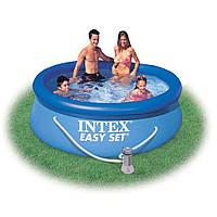 Надувной бассейн Intex Easy Set 28112 (56972) (244х76 см) и насос