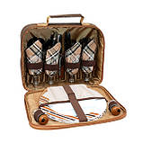 Набор для пикника с изотермической сумкой Time Eco TE-432 BS, фото 3