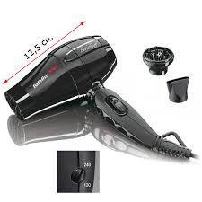 Фен для волос дорожный BaByliss Bambino Pro чорний 1200W