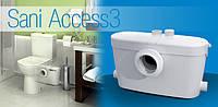 Насос-измельчитель для ванной комнаты Saniaccess - 3. Удобное обслуживание при попадании инородного предмета .