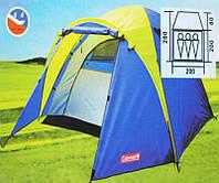 Палатка coleman 1011 ( 3 места )