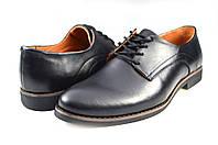 Мужские туфли prime 486.4 черные   весенние , фото 1