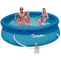 Надувной бассейн Intex Easy Set 28122 (56922) (305х76 см) и насос