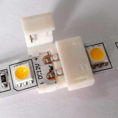 Коннектор для светодиодных лент OEM №1 8mm joint (зажим-зажим)