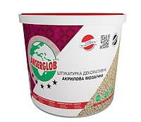 Штукатурка акриловая мозаичная (цвета G GN PG PGN) Anserglob 5 кг, фото 1