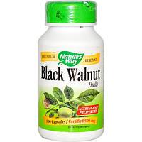 Черный орех 100 капс 500 мг противопаразитарный и антибактериальный препарат Nature's Way