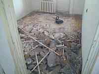 Демонтаж пола в Днепропетровске, фото 1