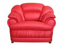 Кресло Барон не раскладное кресло не раскладное, кожзам красный