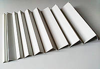 Углы отделочные пластиковые WEST белые  2.7м