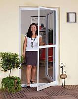 Сетка антимоскитная дверная белая на балконную дверь