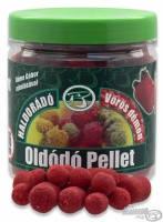 Пеллетс насадочный растворимый Haldorádó  8-12-16 mm  150 гр.  Красный демон (клубника)